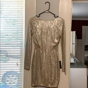 Gold dress NWT